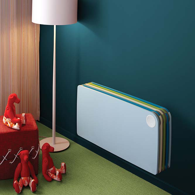 color and size of designer radiator