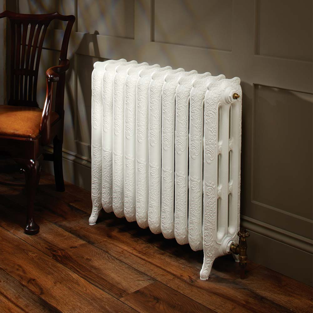ornate hydronic heating radiators