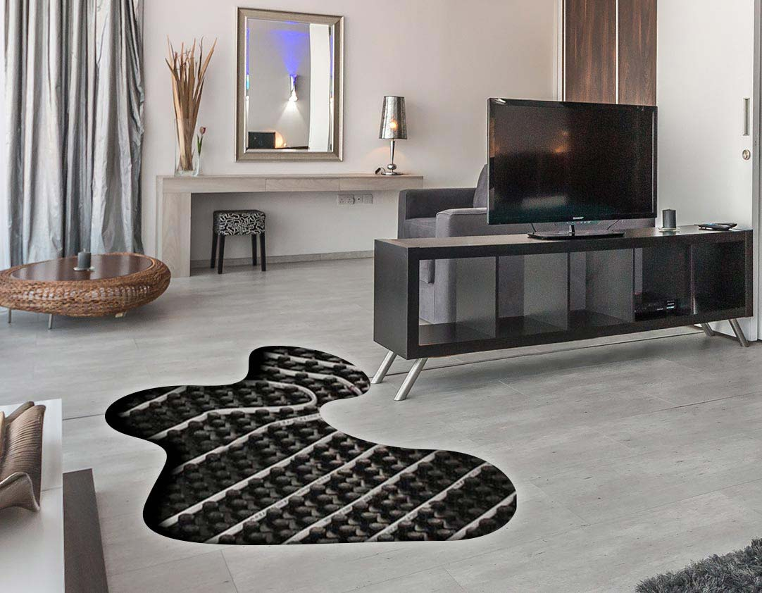 Hydronic floor heating systems